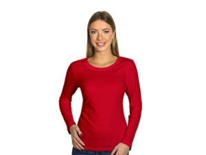 Ženska pamučna majica dugih rukava